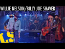 """Willie Nelson & Billy Joe Shaver: """"Hard To Be An Outlaw"""" - David Letterman"""
