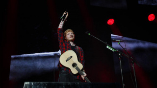 Ed Sheeran at Staples Center