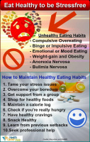 HCW Stress Management TIP 3 – Eat Healthy