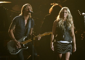 Miranda Lambert and Keith Urban