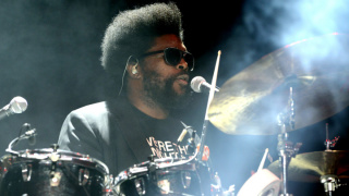 Questlove of The Roots performs