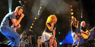 Little Big Town performs at LP Field