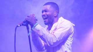 Frank Ocean performs during the 2014 Bonnaroo Music & Arts Festival