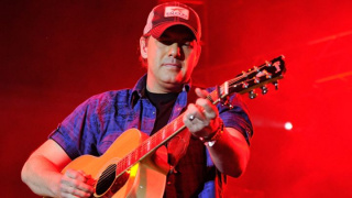 Rodney Atkins performs at his annual charity benefit show in Nashville.