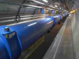 LHC tunnel, CERN