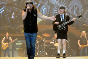 AC/DC The Australian rock band
