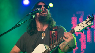 Shooter Jennings, who lends his voice to a new album by Erik Deutsch
