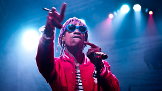 Wiz Khalifa Performs in Santa Ana