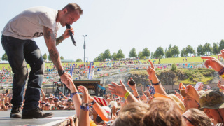Dallas Smith performs at the Watershed Music Festival