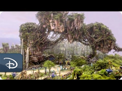 Here's Your First Look at Disney World's New 'Avatar'-Themed Land