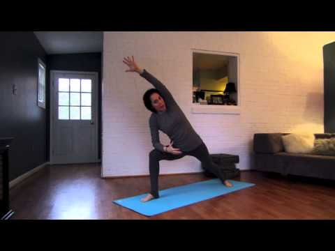 Shake Off Travel Stagnation With This Quick Yoga