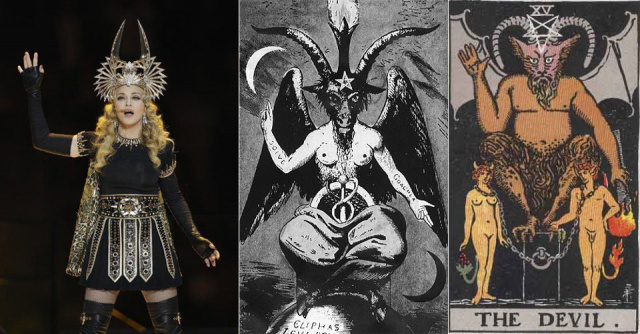 Madonna Masonic: pop occultism halftime show of Superbowl