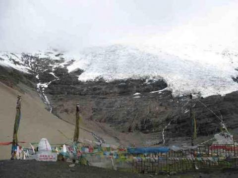 Melting Glaciers Pose a Carbon Menace