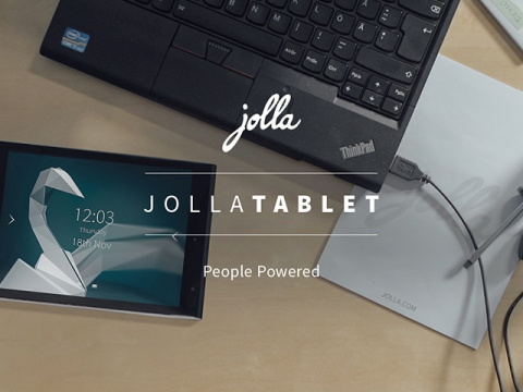 Jolla Tablet returns to Indiegogo with 64 GB of internal memory