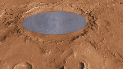 Curiosity Finds Strong Evidence of Ancient Lake on Mars