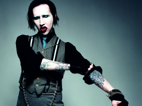 The Antichrist Superstar sings about how love is evil!