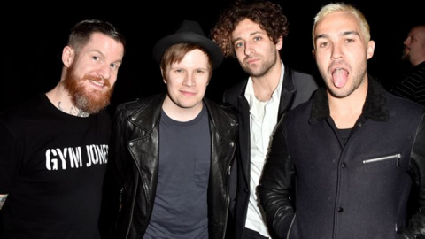 """Fall Out Boy collaborate on """"Save Rock And Roll"""""""