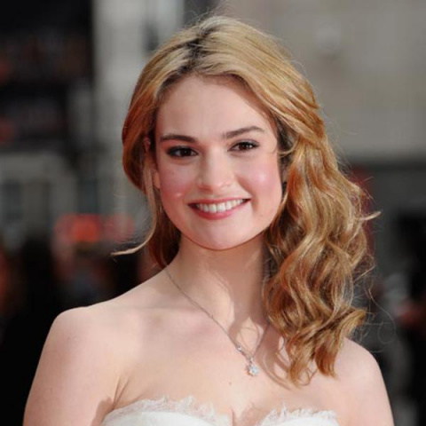lily james (private photo)