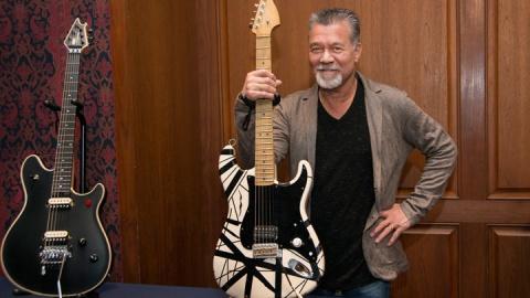 Eddie Van Halen Shares Life Story, Van Halen Update at Smithsonian