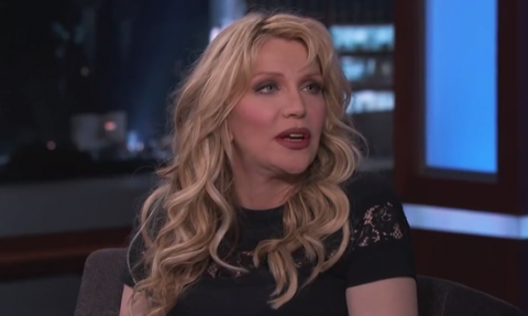 Courtney Love, Dave Grohl Bonded Over Actress' Breasts