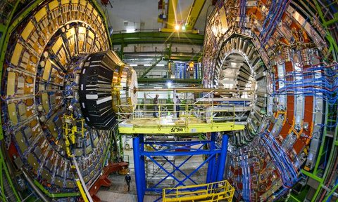 Views the Large Hadron Collider on dark matter