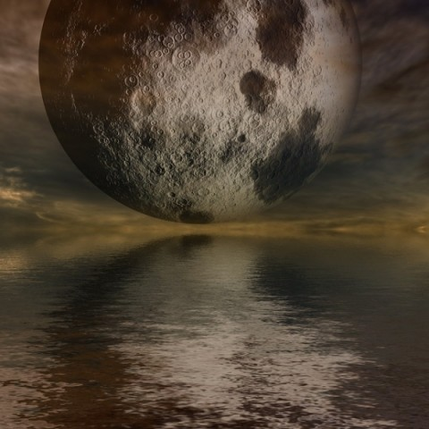Could Evidence of Original Life be on the Moon?