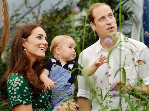 William, Kate and George Are Back Home After Vacation in Mustique