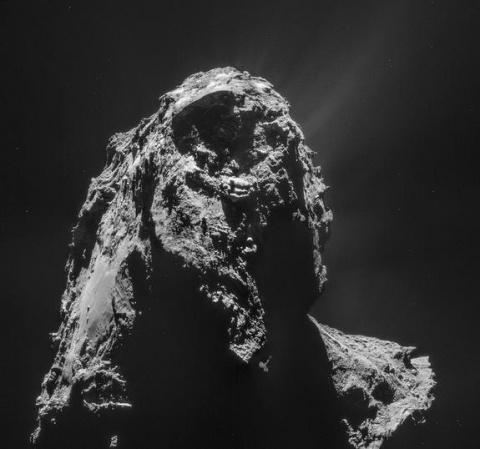 Strange comet discoveries found in the Rosetta spacecraft