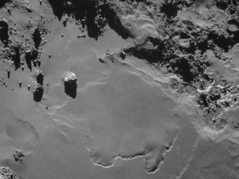 Tensions surround release of new Rosetta comet data