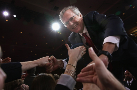 Jeb Bush's biggest CPAC win: No gifts for Democrats