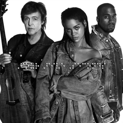 "Paul McCartney, Kanye West, Rihanna together to ""FourFiveSeconds"""