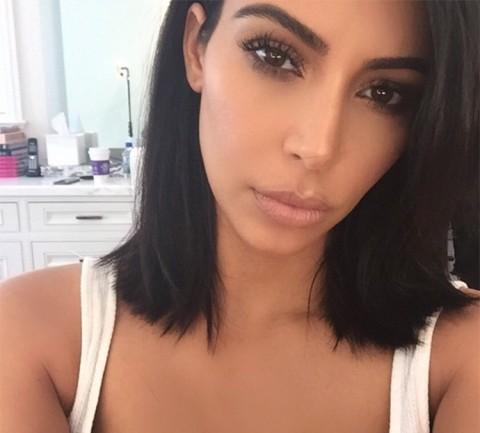Kim Kardashian Chops Off Her Hair