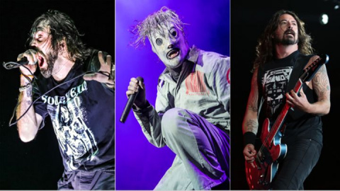 All-Star Project Preps LP Featuring Dave Grohl, Slipknot's Corey Taylor