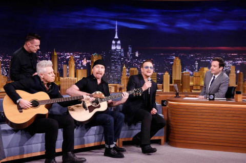 U2 Announces Week-Long Residency on the Tonight Show Later This Month
