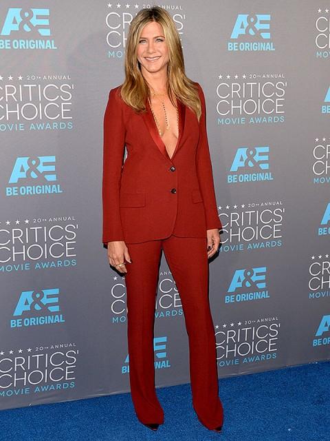 SAG Awards 2015: Jennifer Aniston's Body Chain